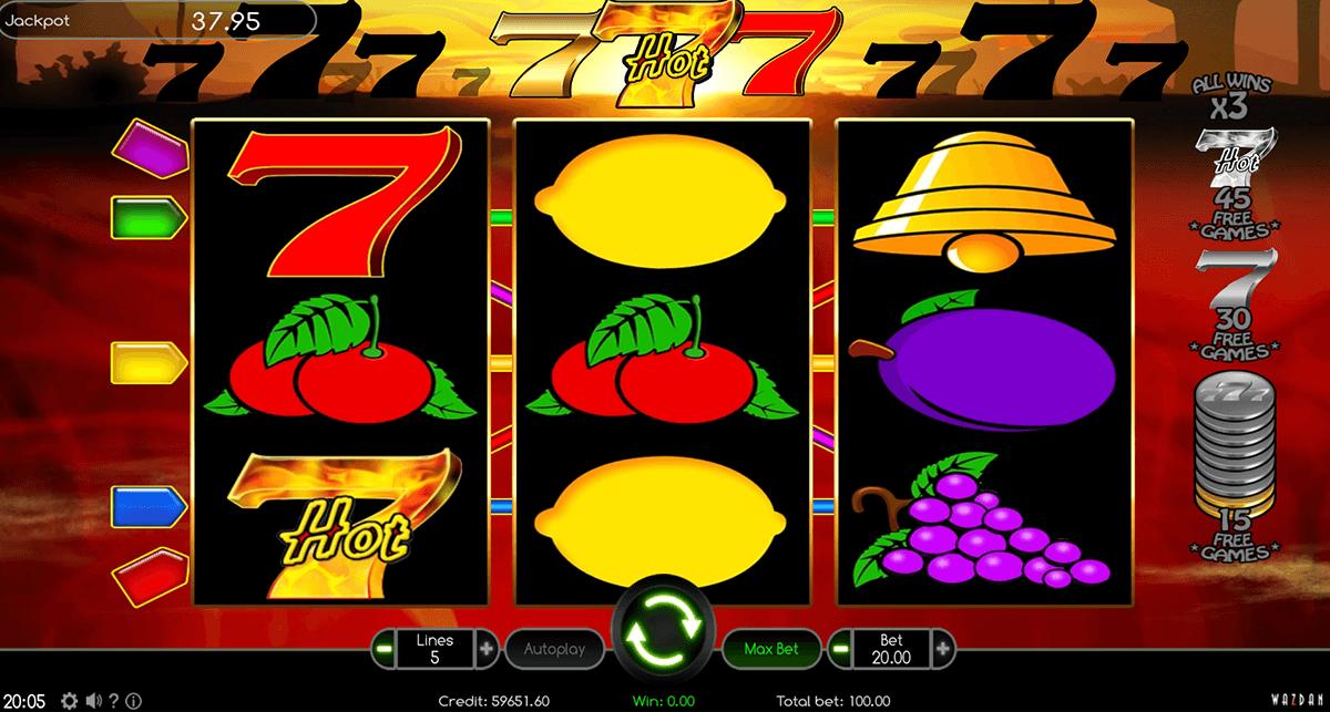 hot 777 wazdan automat online