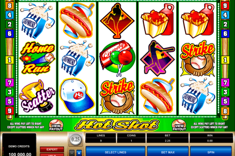 hot shot microgaming automat online