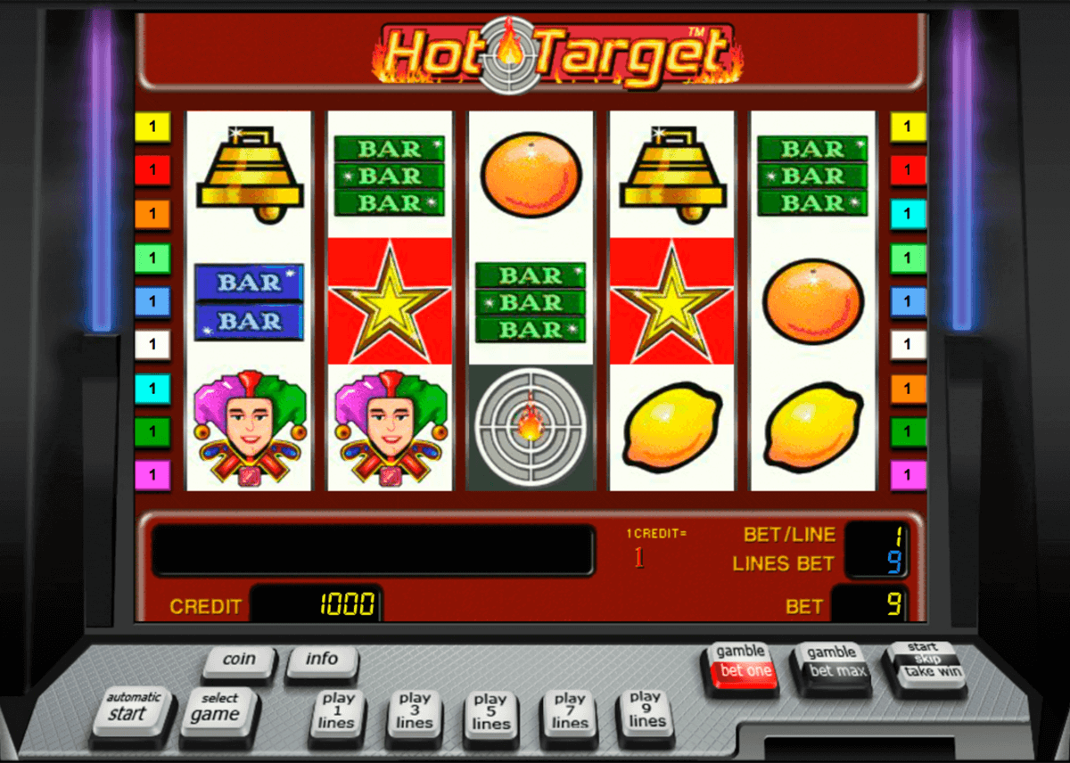 hot target novomatic automat online