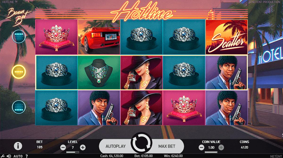 hotline netent automat online