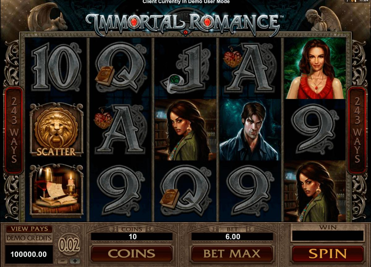 immortal romance microgaming automat online