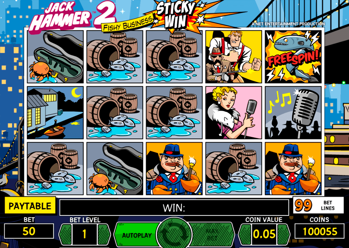 jack hammer 2 netent automat online