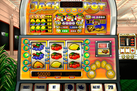 jackpot  netent automat online