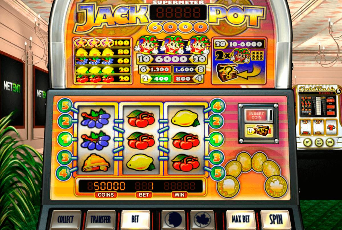 jackpot 6000 netent automat online