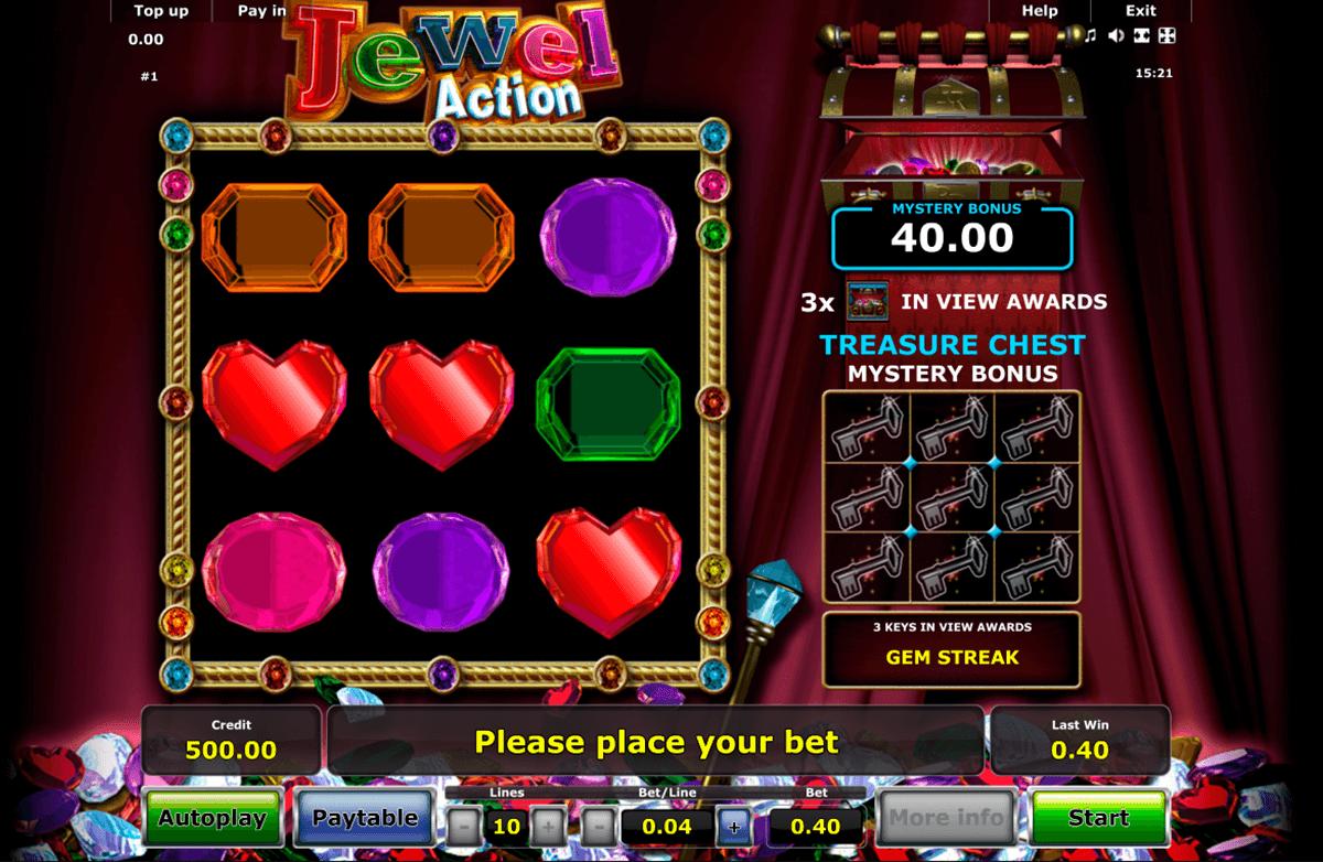 jewel action novomatic automat online