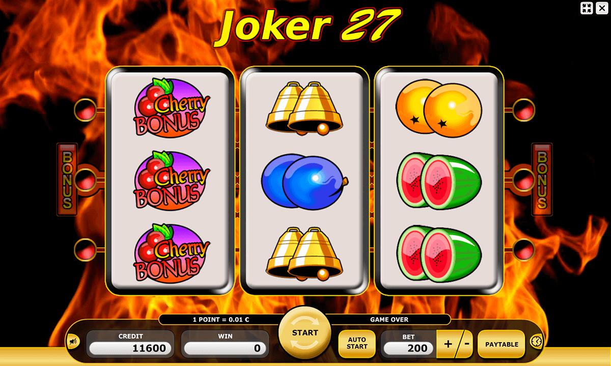joker 27 kajot automat online
