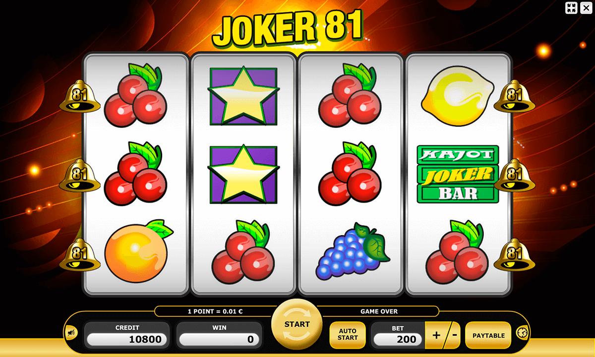 joker 81 kajot automat online
