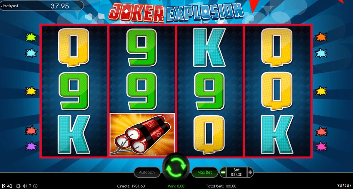 joker explosion wazdan automat online