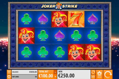 joker strike quickspin automat online