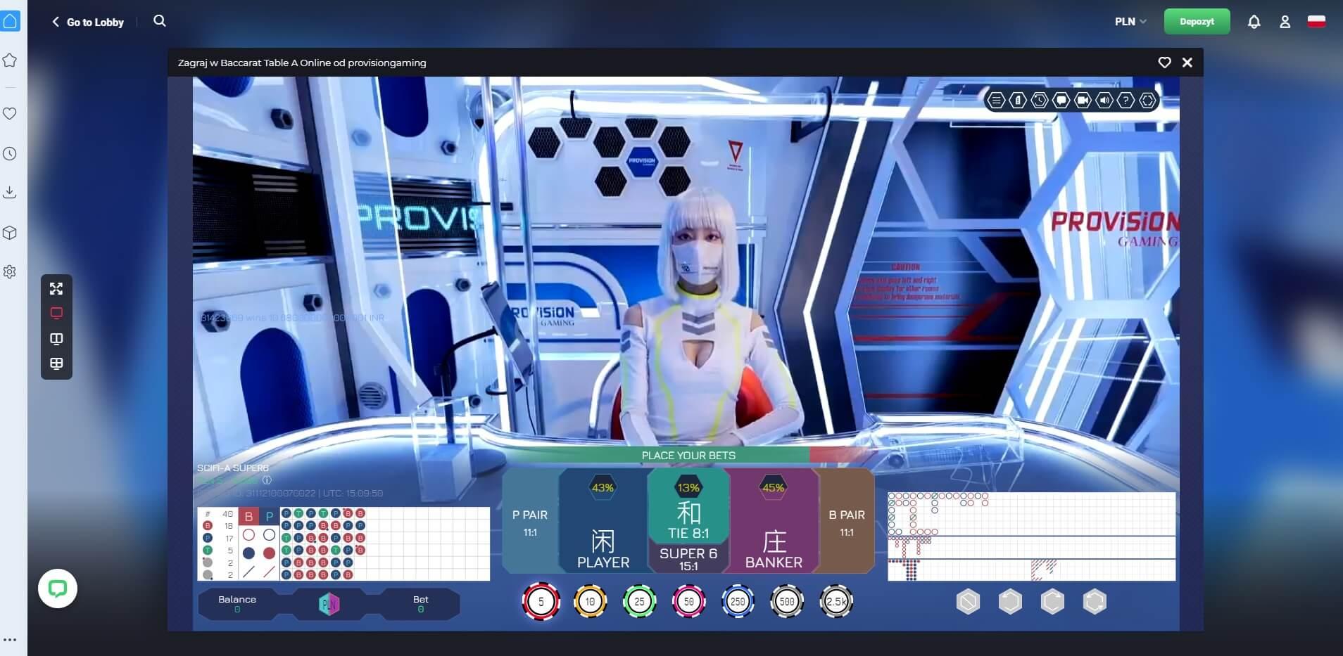 joo casino live screenshot