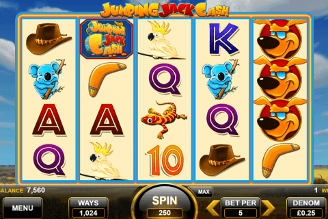 jumping jack cash spin games automat online