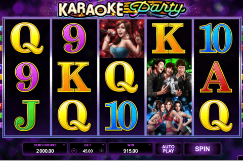 karaoke party microgaming automat online