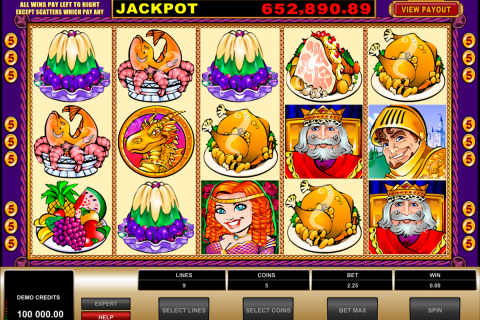 king cashalot microgaming automat online