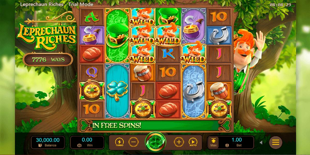 leprechaun riches pg soft automat online