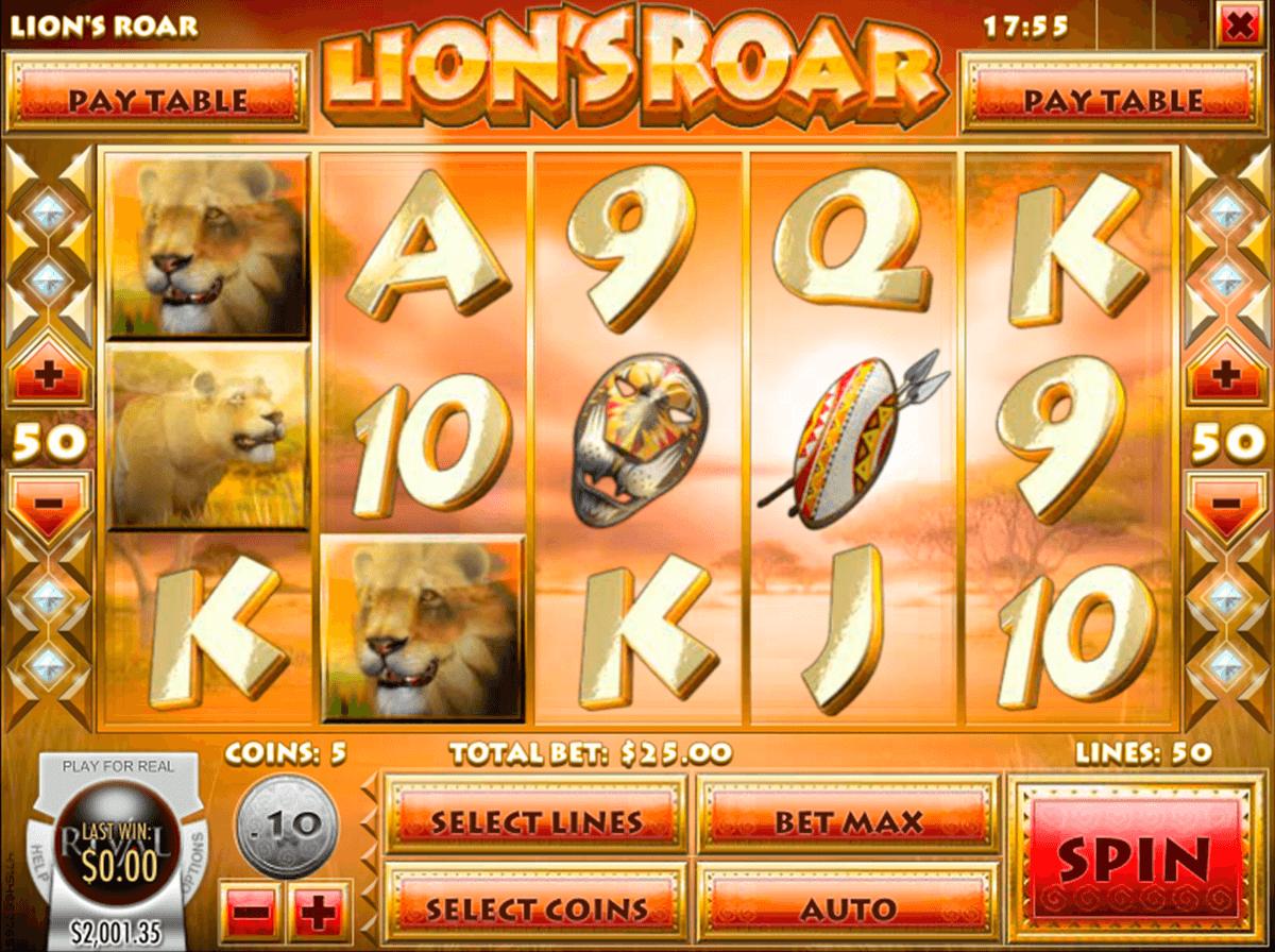 lions roar rival automat online