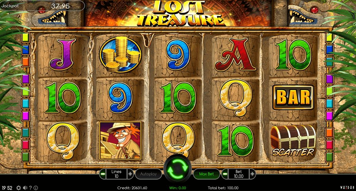 lost treasure wazdan automat online