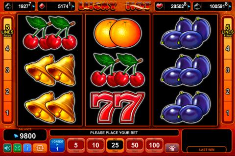lucky hot egt automat online