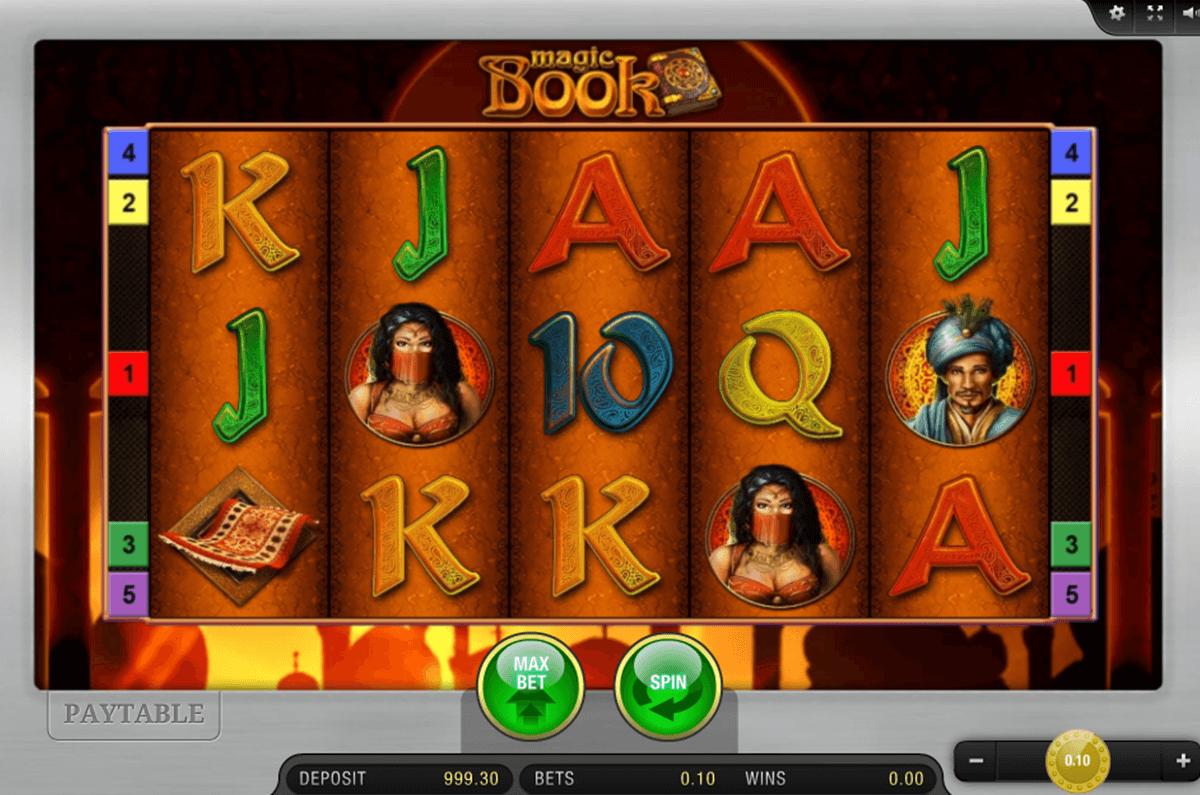 magic book bally wulff automat online