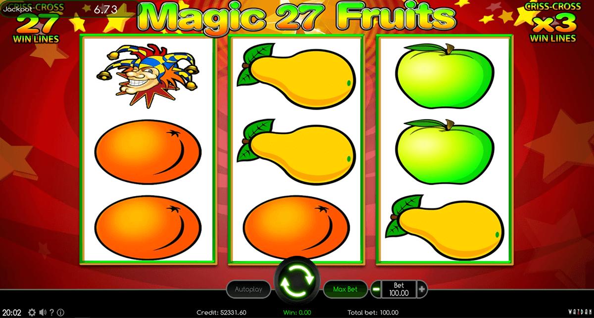magic fruits 27 wazdan automat online
