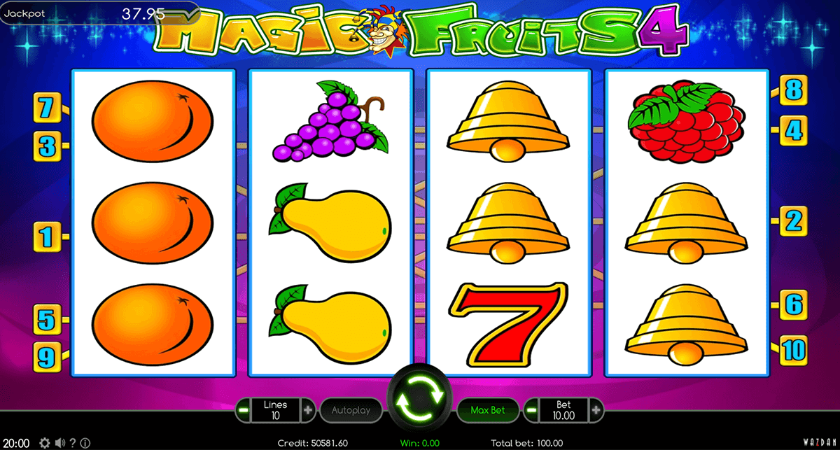 magic fruits 4 wazdan automat online