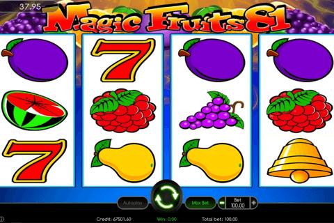 magic fruits  wazdan automat online