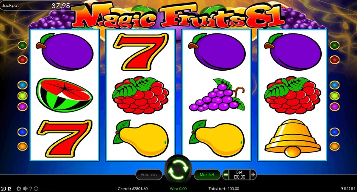 magic fruits 81 wazdan automat online
