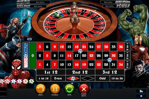 marvel roulette playtech ruletka online