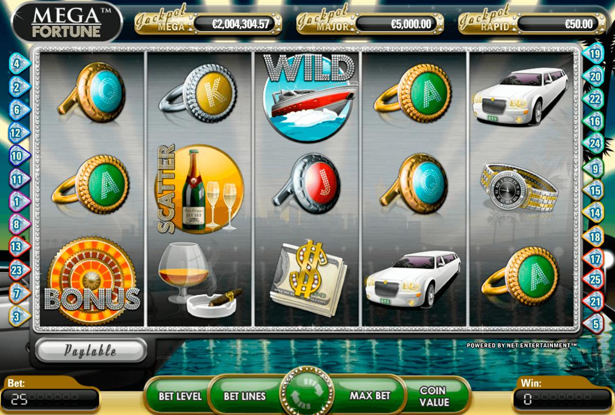 mega fortune netent automat online