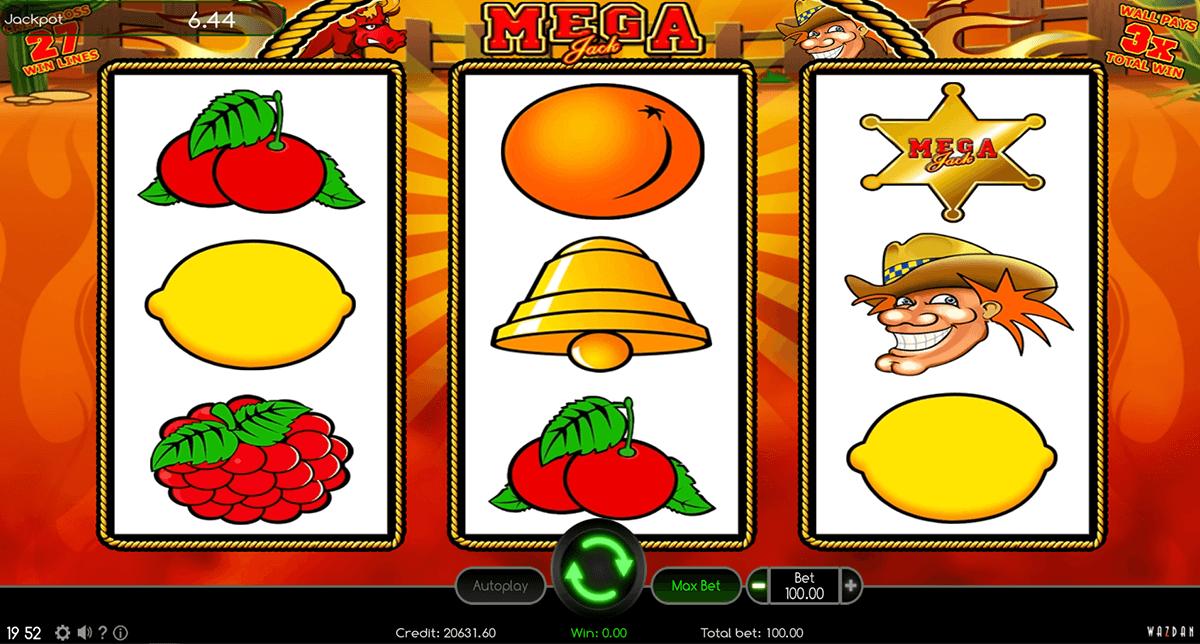 mega jack wazdan automat online