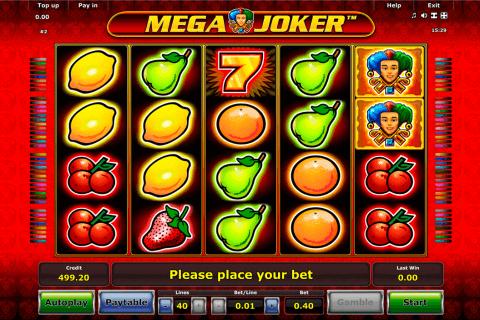 mega joker novomatic automat online