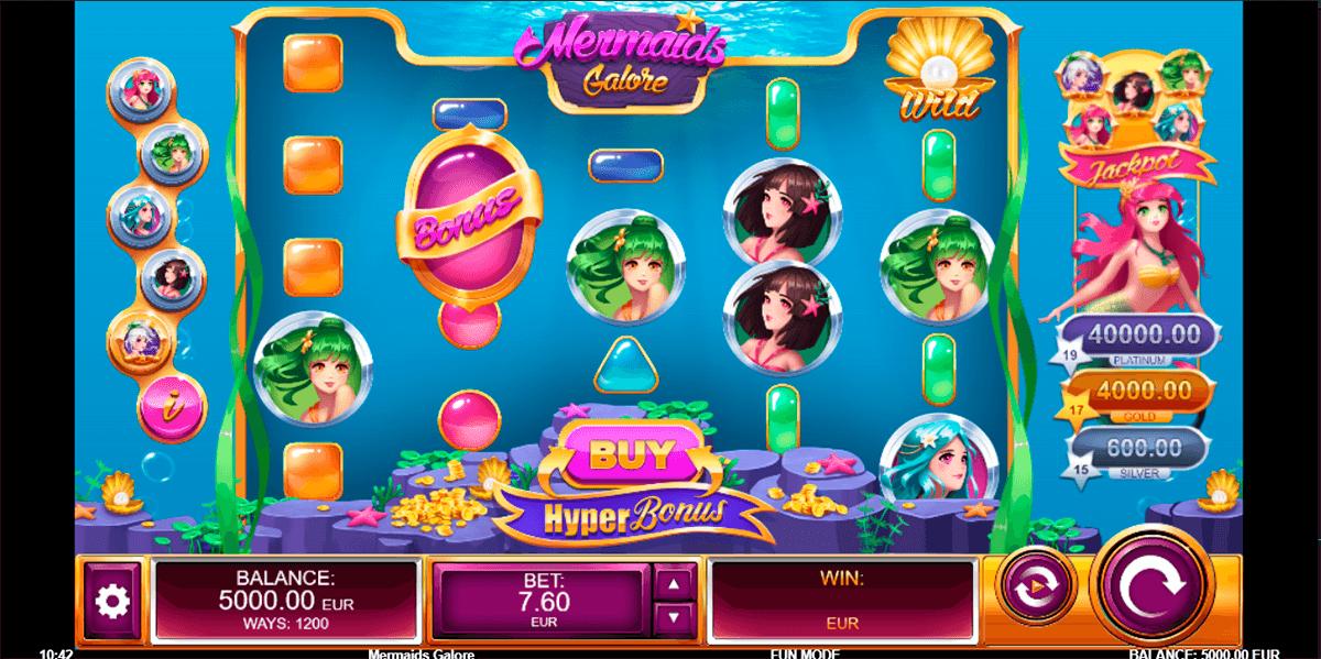 mermaids galore kalamba games automat online