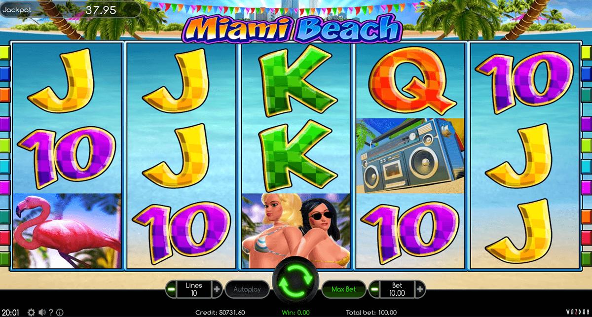 miami beach wazdan automat online