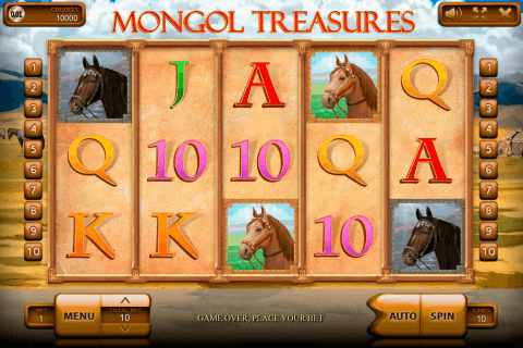 mongol treasures endorphina automat online