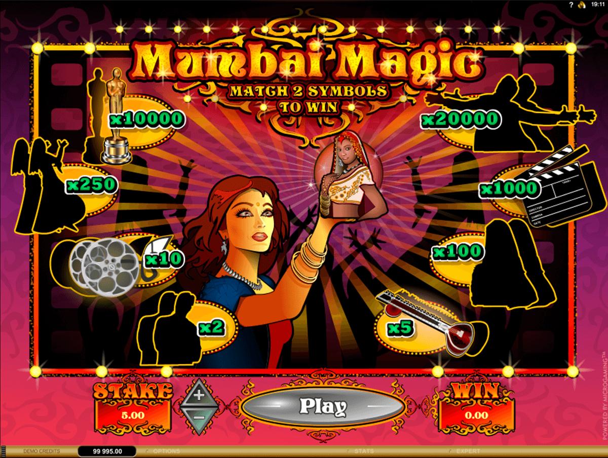 mumbai magic microgaming zdrapka online