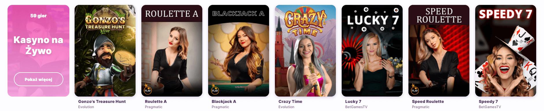 nomini kasyno na żywo screenshot