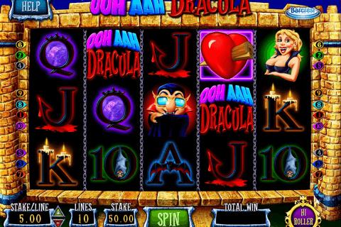 ooh aah dracula barcrest automat online
