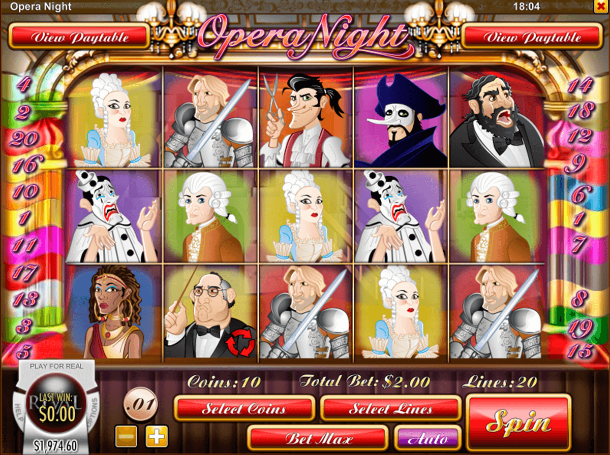 opera night rival automat online