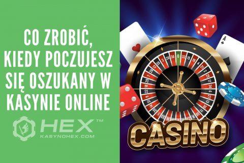 oszukanie przez kasyno e