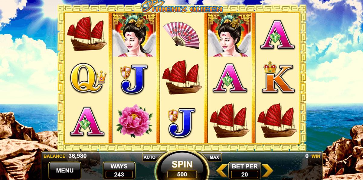 phoenix queen spin games automat online