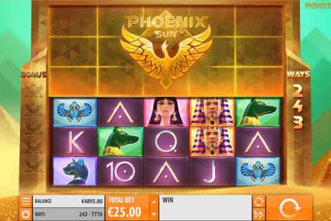 phoeni sun quickspin automat online