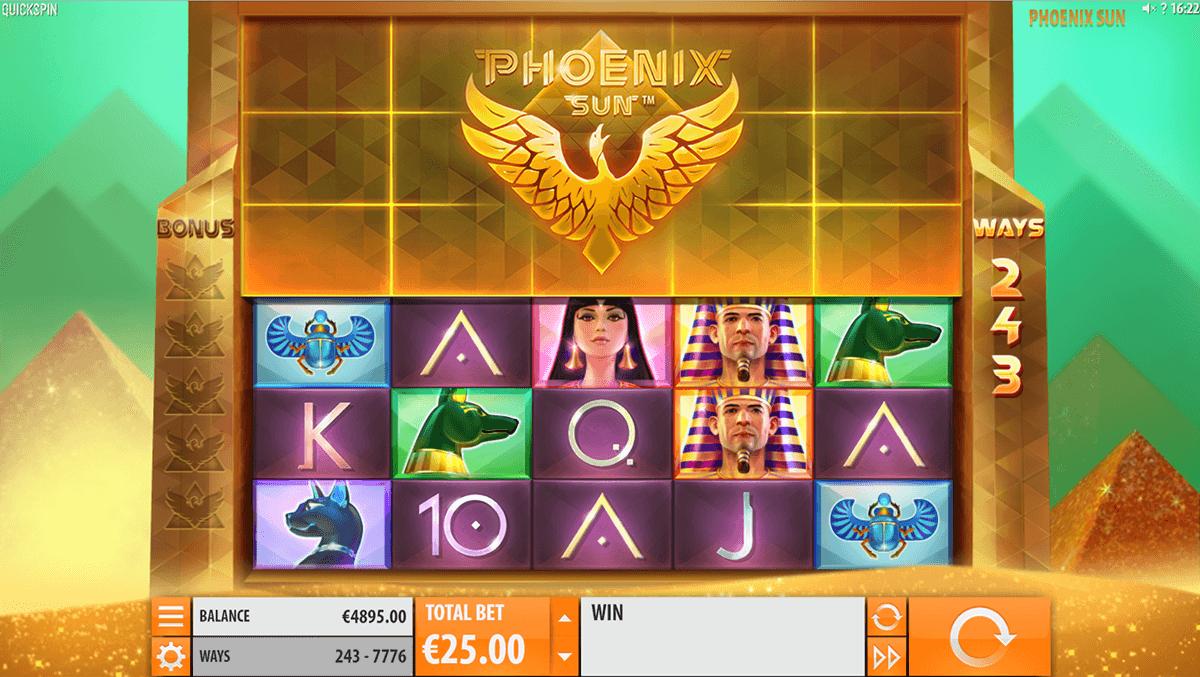 phoenix sun quickspin automat online