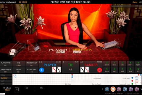 prestige baccarat playtech bakarat online