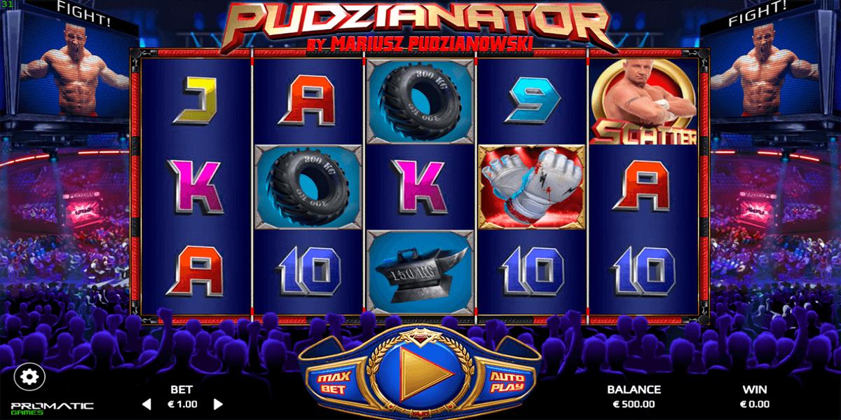pudzianator promatic games automat online