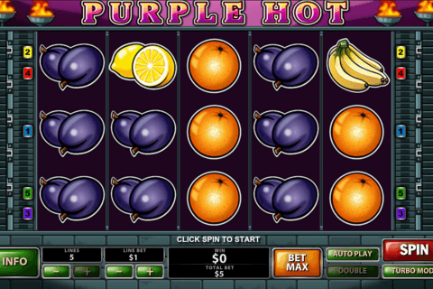 purple hot playtech automat online