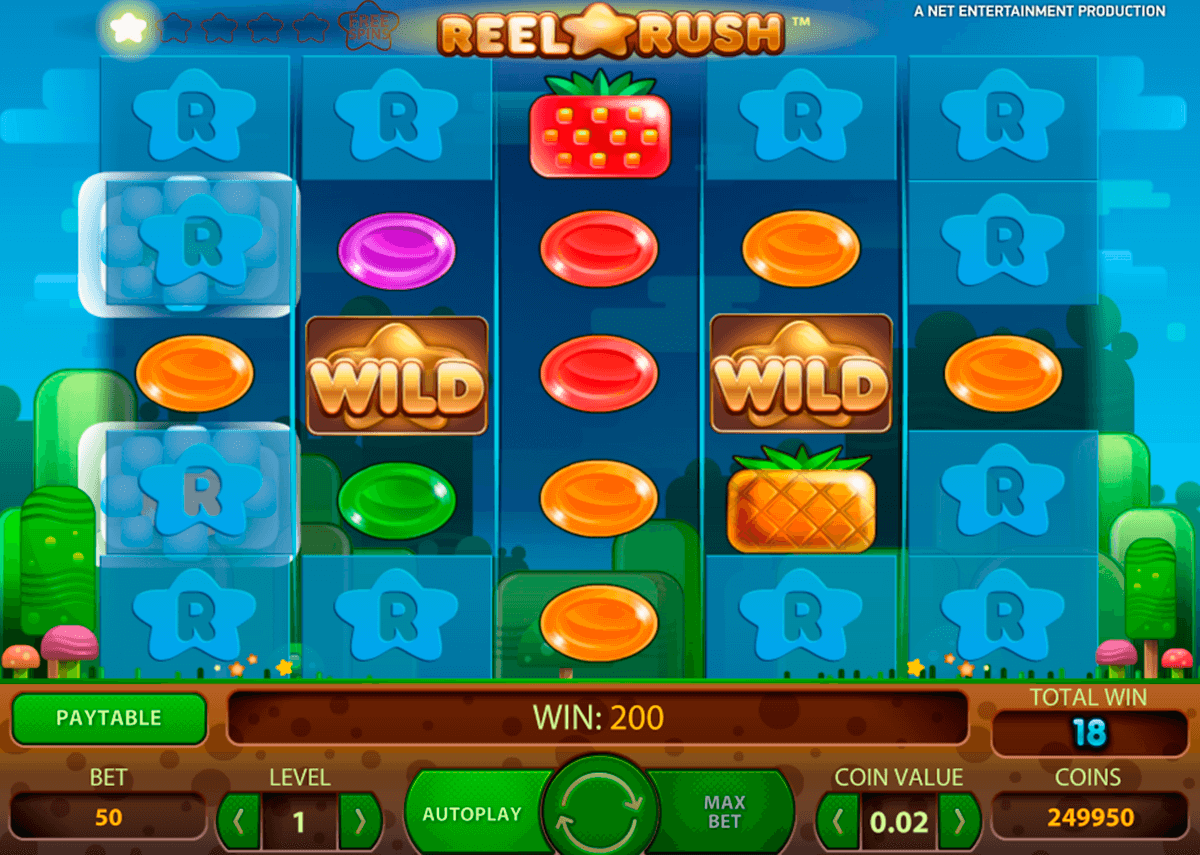 reel rush netent automat online