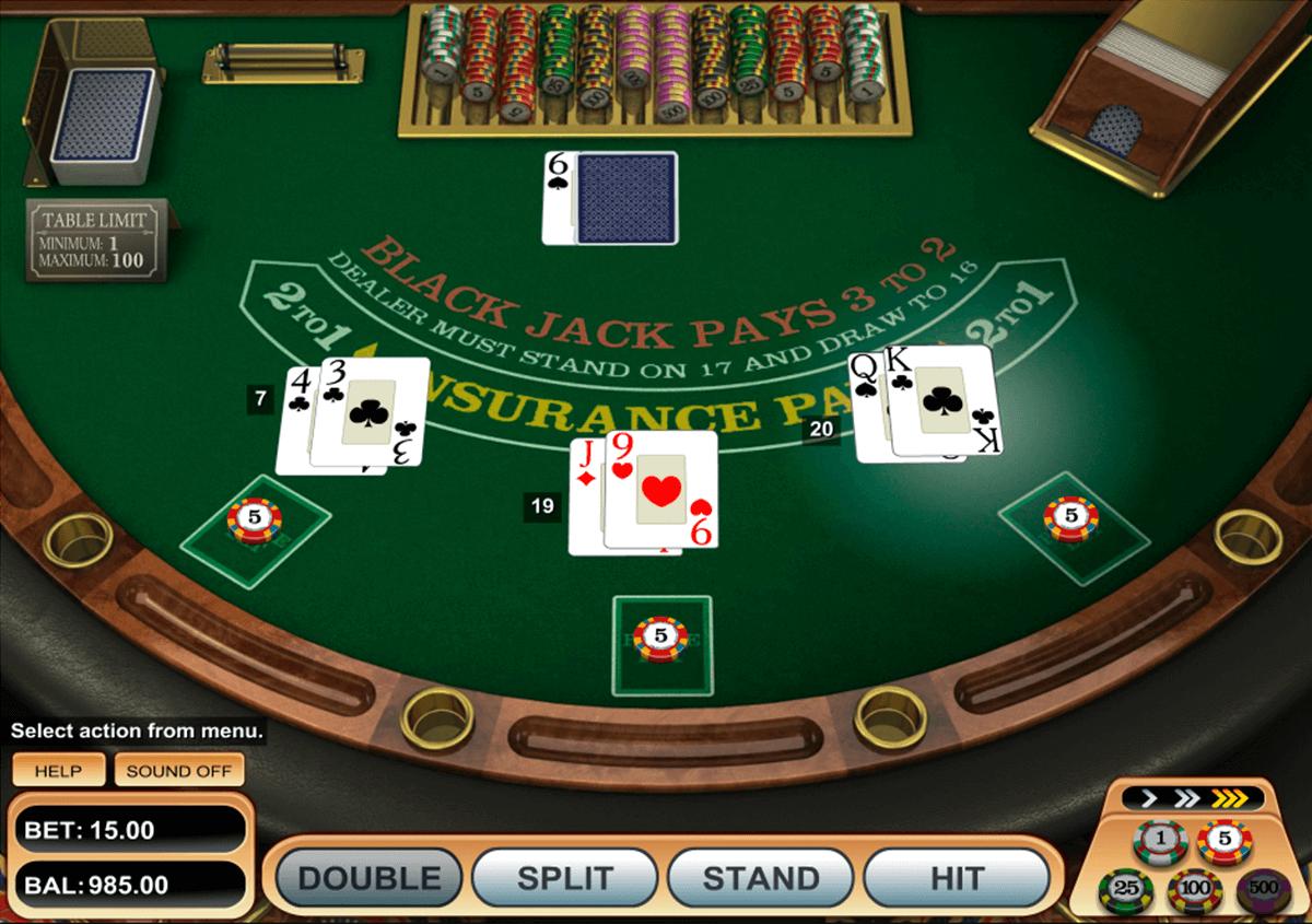 single desk blackjack betsoft blackjack online
