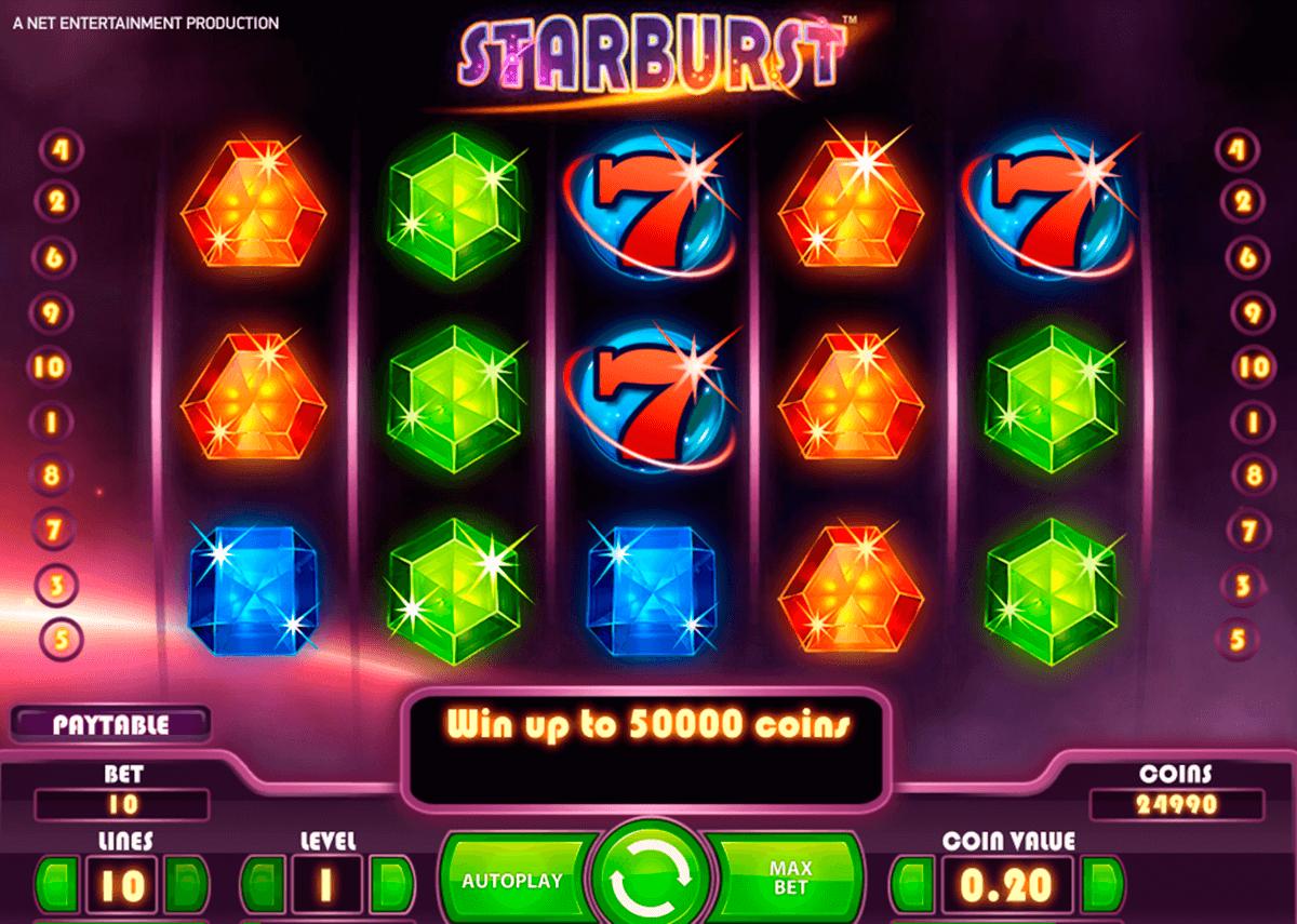 starburst netent automat online