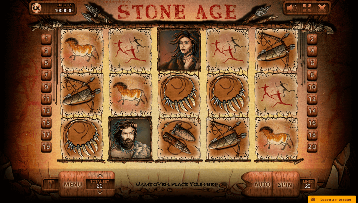 stone age endorphina automat online