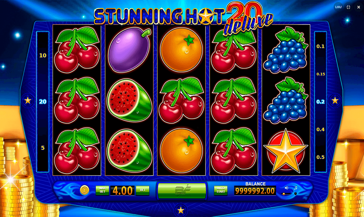 stunning hot 20 deluxe bf games automat online