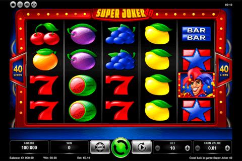 super joker  kajot automat online